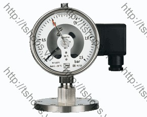 All Stainless Steel Pressure Gauge with All Stainless Steel Pressure Gauge with In-Line Diaphragm Diaphragm MAN-RF..M1..DRM-628