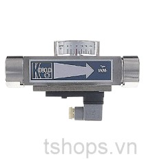 VKM - All-Metal Viscosity Compenstaing Flowmeter and Switch