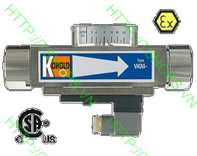 Vicositiy Compensated Flowmeter/-switch-All Metal VKM