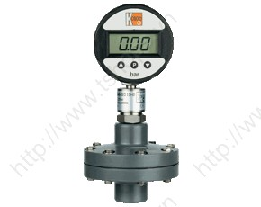 Digital Pressure Gauge with Membrane Diaphragm Seal PVC MAN-SD..DRM-630
