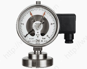 Contact Pressure Gauge with Membrane Diaphragm Seal DIN11851 MAN-RF...M21..DRM-602