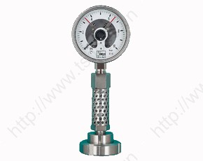 Pressure Gauge with Diaphragm Seal DIN 11851 and Cool. Element MAN-RF..MZB-711...DRM-602