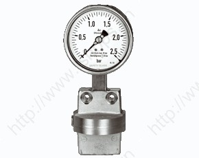 Differential Pressure Gauge with Diaphragm MAN-Dxx5