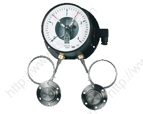 Differential Pressure Gauge with Bourdon Tube MAN-DG12R