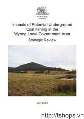 Impacts of potential underground coal mining in the Wyong Local Government Area - strategic review