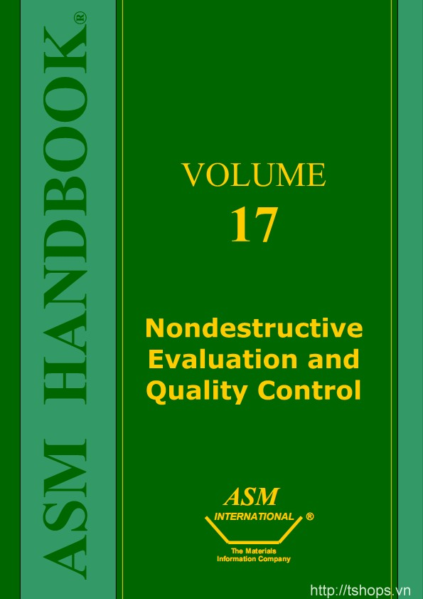 Nondestructive Evaluation and Quality Control