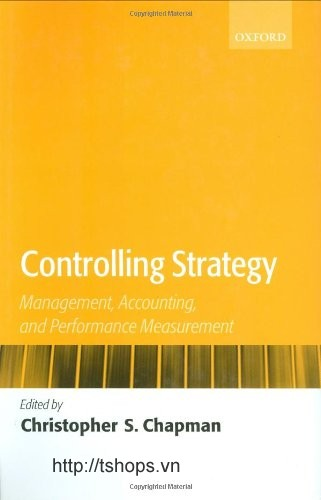 Controlling  Management, Accounting, and Performance Measurement