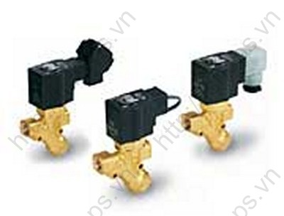 2 Port Solenoid Valve with Built-in Y-strainer   VXK