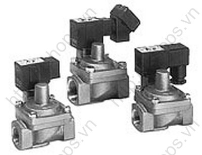 Water Hammer Relief/Pilot Operated 2 Port Solenoid Valve   VXR