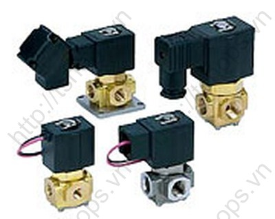 Direct Operated 3 Port Solenoid Valve   VX3
