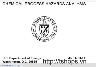 CHEMICAL PROCESS HAZARD ANALYSIS