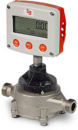 Nutating disc meter RCDL, nickel coated