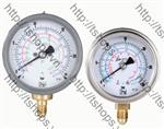 Bourdon tube pressure gauges for refrigerants MAN-T
