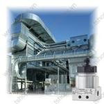 DMD 341 - Differential pressure transmitter for gases and compressed air in compact version