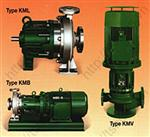 Sealless Magnetic Driven Centrifugal Pumps Type KML/KMB/KMV
