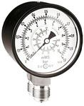 Differential pressure gauges with Bourdon tube with copper alloy  - or stainless steel system